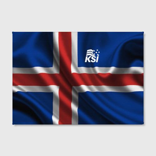 Холст прямоугольный Исландия Фото 01