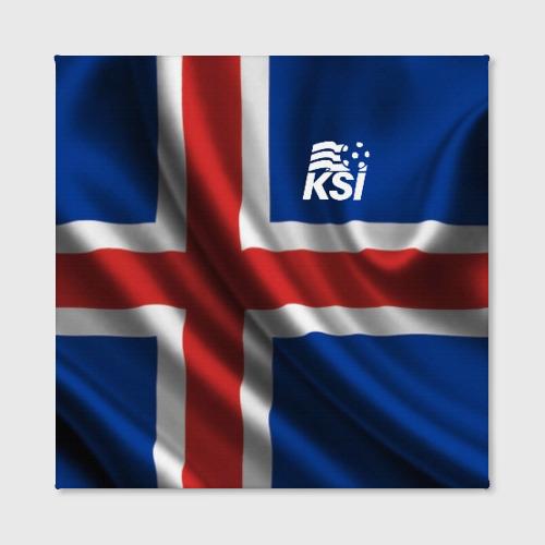 Холст квадратный Исландия Фото 01