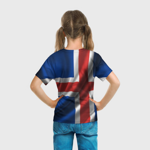 Детская футболка 3D Исландия Фото 01