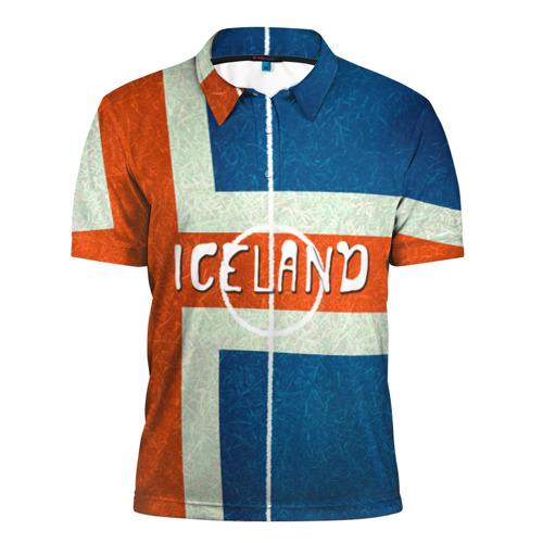 Мужская рубашка поло 3D  Фото 01, Исландия