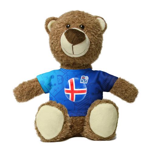 Миша в футболке 3D Исландия