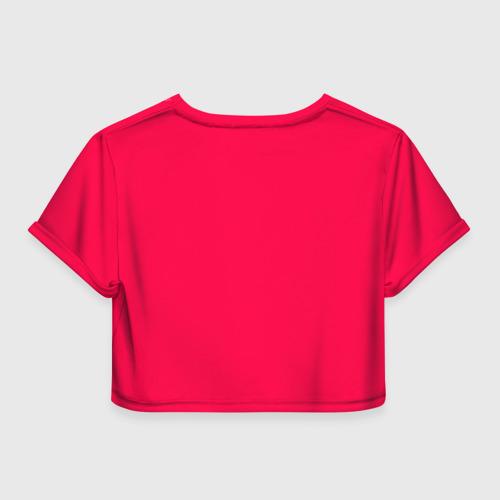 Женская футболка 3D укороченная  Фото 02, Bride