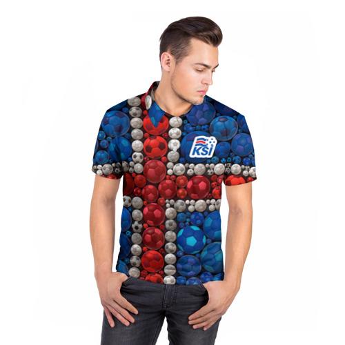 Мужская рубашка поло 3D  Фото 05, Исландия