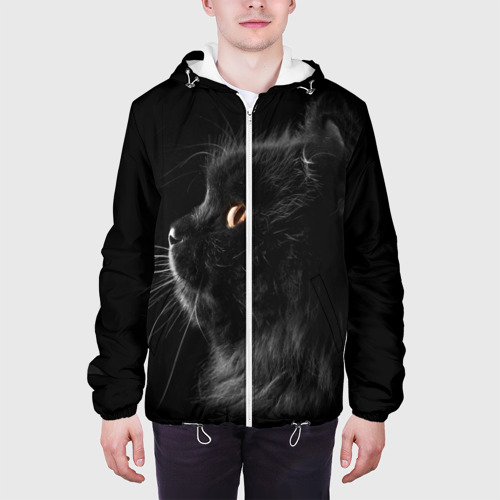 Мужская куртка 3D Милая кошечка Фото 01