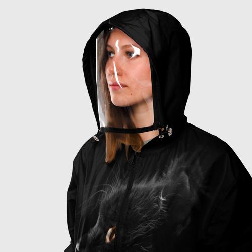 Ветровка 3D с защитным экраном Милая кошечка Фото 01