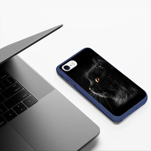Чехол для iPhone 7/8 матовый Милая кошечка Фото 01