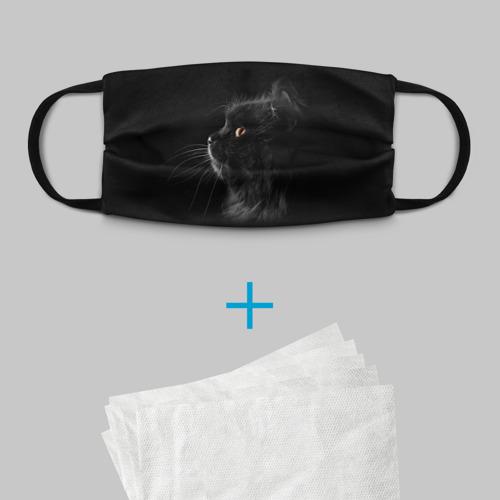 Детская маска (+5 фильтров) Милая кошечка Фото 01