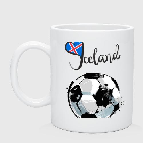 Кружка  Фото 01, Исландия. Футбол