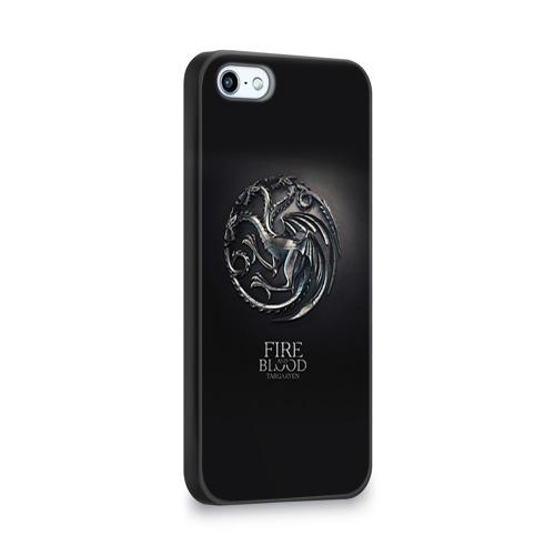 Чехол для Apple iPhone 5/5S 3D  Фото 02, Игра Престолов Герб 10