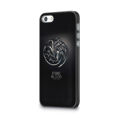 Чехол для Apple iPhone 5/5S 3D  Фото 03, Игра Престолов Герб 10