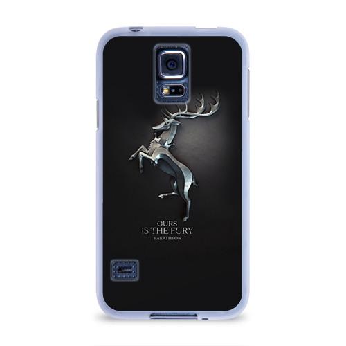 Чехол для Samsung Galaxy S5 силиконовый  Фото 01, Игра Престолов Герб 12