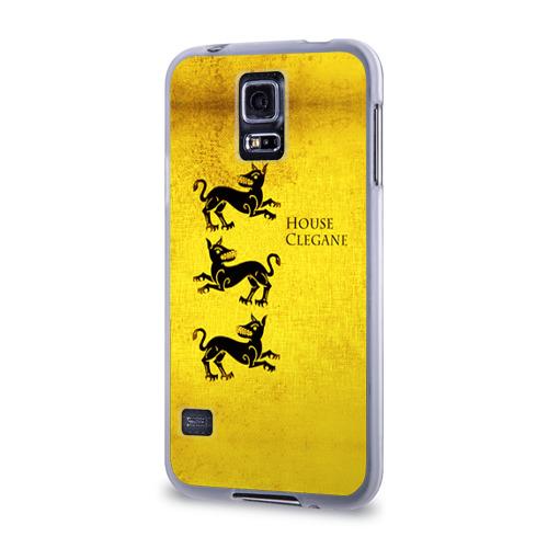 Чехол для Samsung Galaxy S5 силиконовый  Фото 03, Игра Престолов Герб 19
