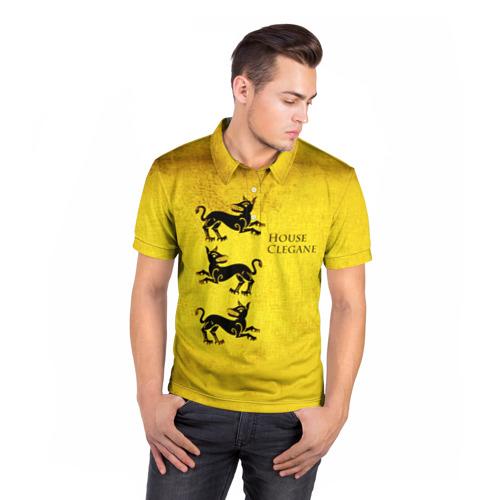 Мужская рубашка поло 3D  Фото 05, Игра Престолов Герб 19