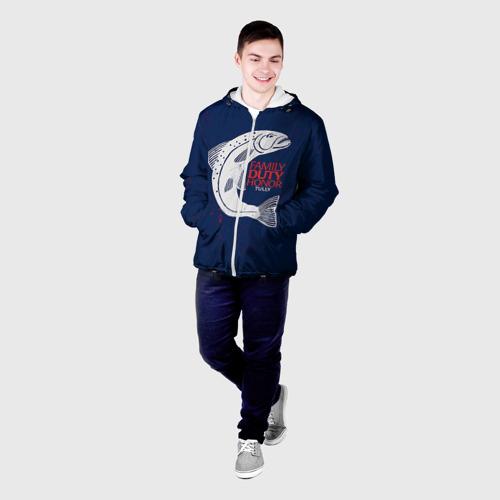 Мужская куртка 3D  Фото 03, Игра Престолов Герб 21