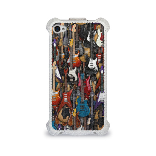 Чехол для Apple iPhone 4/4S flip  Фото 01, Электрогитары