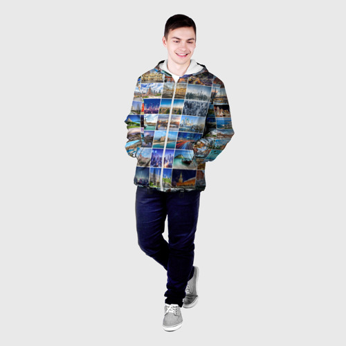 Мужская куртка 3D  Фото 03, Страны мира (9х9)
