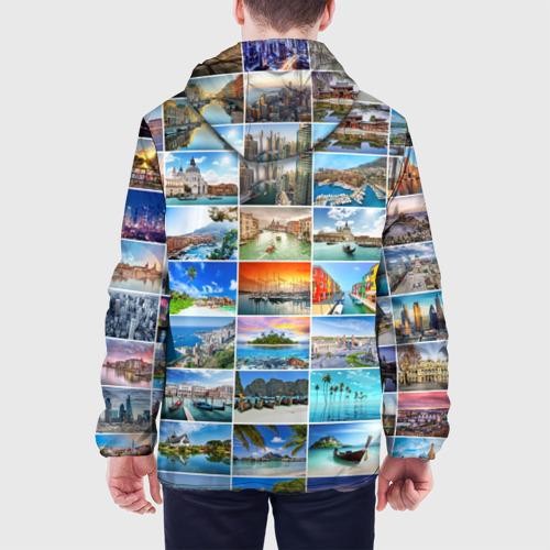Мужская куртка 3D  Фото 05, Страны мира (9х9)