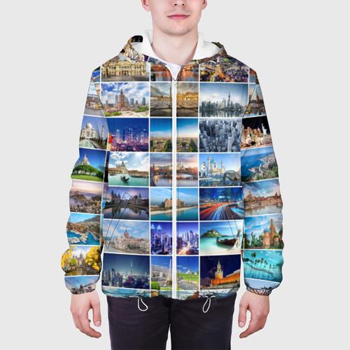 Мужская куртка 3D  Фото 04, Страны мира (9х9)
