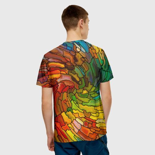 Мужская футболка 3D  Фото 02, Круговорот жизни