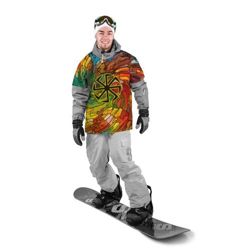 Накидка на куртку 3D  Фото 03, Круговорот жизни