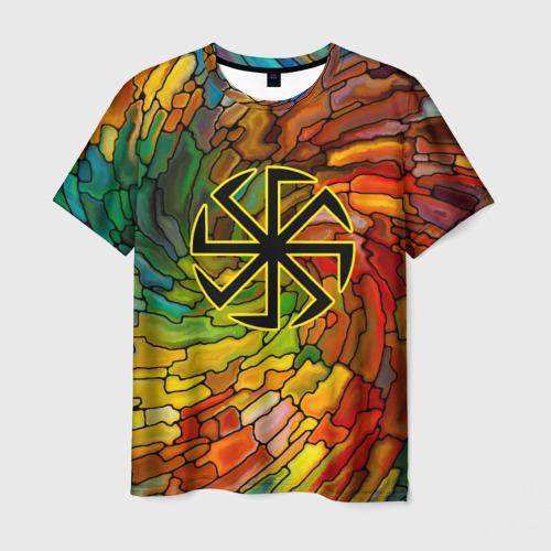 Мужская футболка 3D  Фото 03, Круговорот жизни