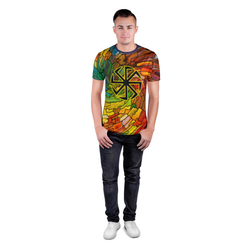Мужская футболка 3D спортивная  Фото 04, Круговорот жизни