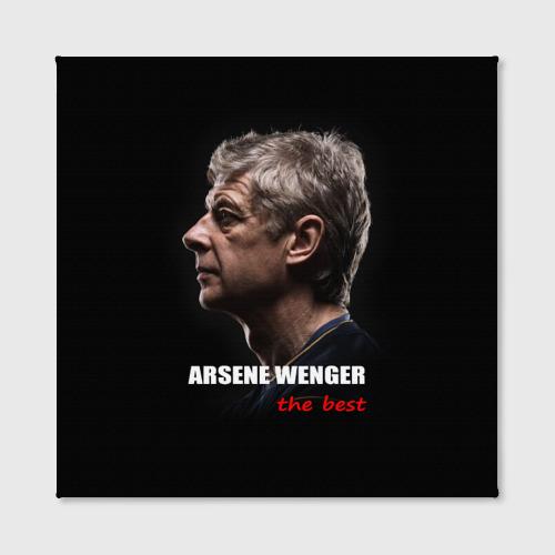 Холст квадратный  Фото 02, Arsene Wenger (Arsenal)
