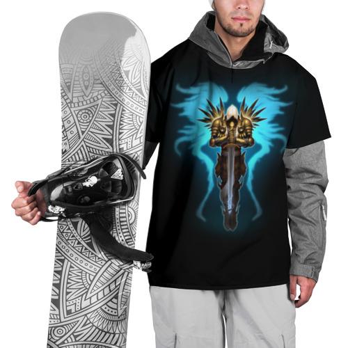 Накидка на куртку 3D  Фото 01, Diablo 3