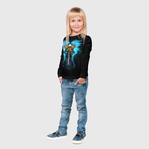 Детский лонгслив 3D  Фото 04, Diablo 3