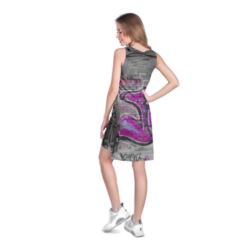 Платье-майка 3D  Фото 04, Граффити