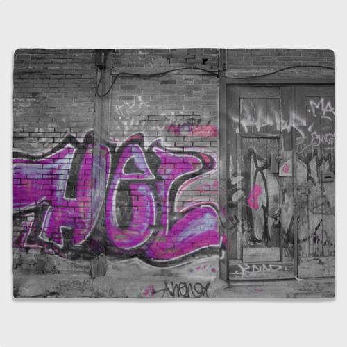 Плед 3D  Фото 03, Граффити