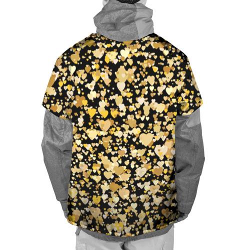 Накидка на куртку 3D  Фото 02, Золотые сердца