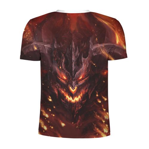 Мужская футболка 3D спортивная  Фото 02, Дьявол