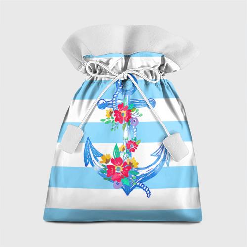 Подарочный 3D мешок Якорь