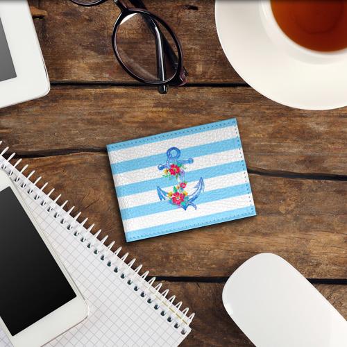 Обложка для студенческого билета Якорь Фото 01