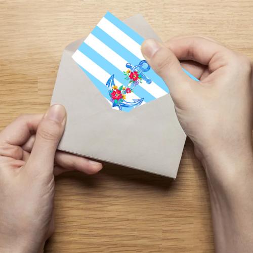 Поздравительная открытка Якорь Фото 01