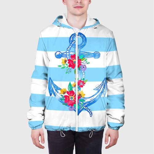 Мужская куртка 3D Якорь Фото 01