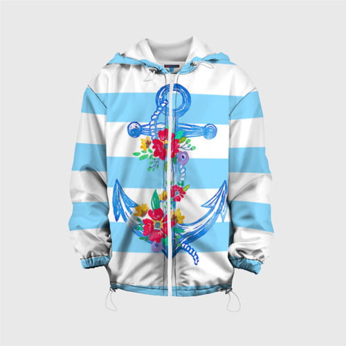 Детская куртка 3D Якорь Фото 01