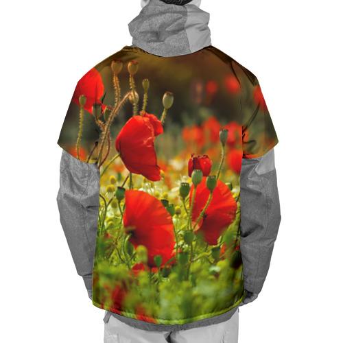Накидка на куртку 3D  Фото 02, Маки