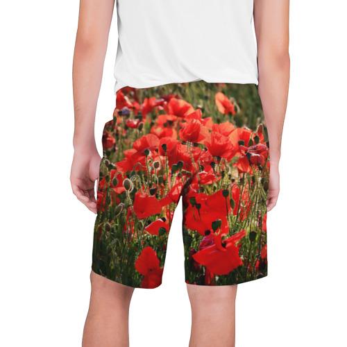 Мужские шорты 3D  Фото 02, Маки