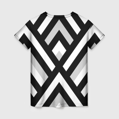 Женская футболка 3D Полоски Фото 01