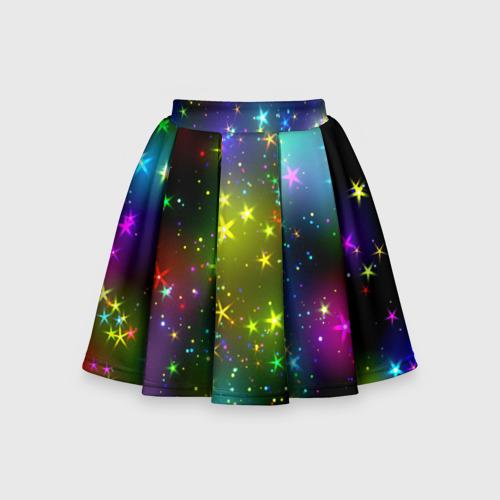 Детская юбка-солнце 3D Звёзды