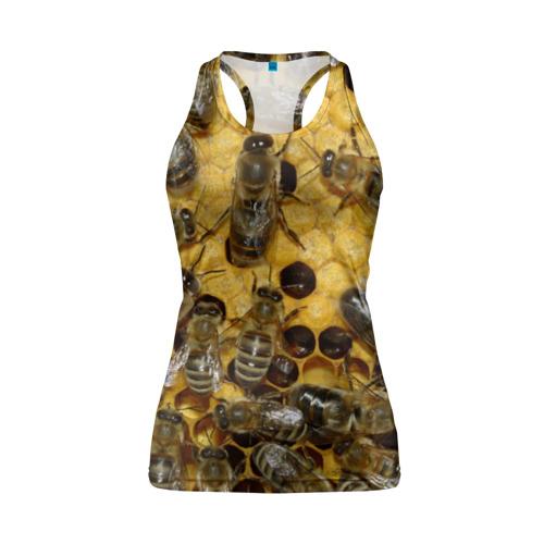 Женская майка 3D спортивная  Фото 01, Пчела