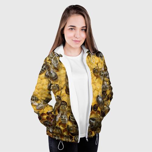 Женская куртка 3D  Фото 04, Пчела
