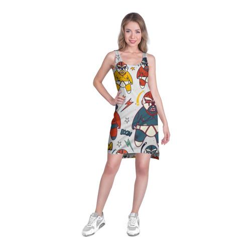 Платье-майка 3D  Фото 03, Мексиканские борцы