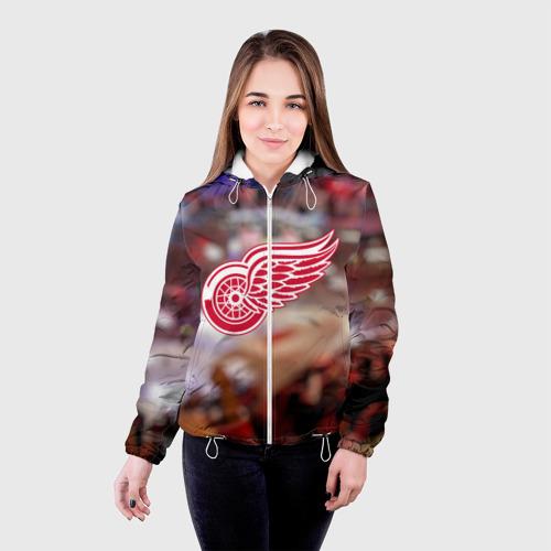 Женская куртка 3D  Фото 03, Red wings