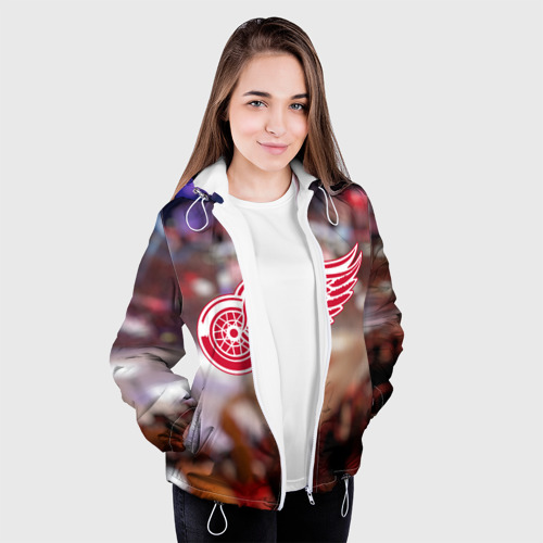 Женская куртка 3D  Фото 04, Red wings