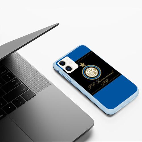 Чехол для iPhone 11 матовый Интер Фото 01