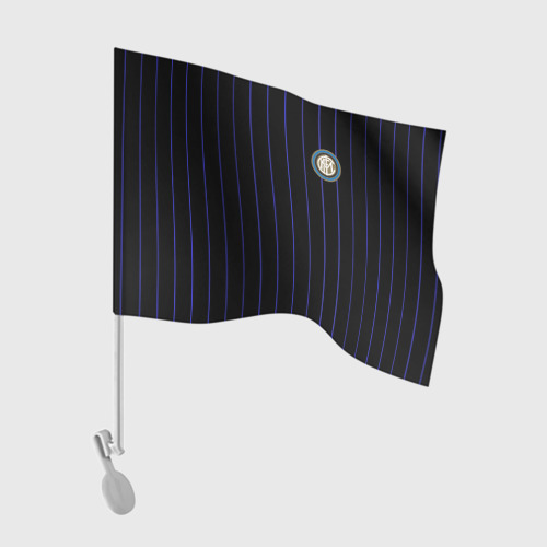 "Флаг для автомобиля Команда \""Интер\"" Фото 01"
