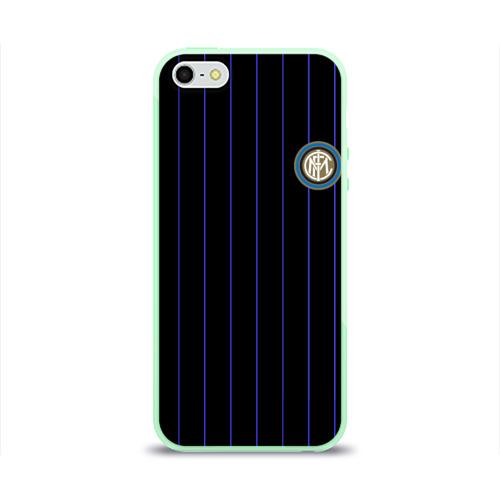 "Чехол для iPhone 5/5S глянцевый Команда \""Интер\"" Фото 01"